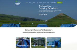 Campsite in Pembrokeshire